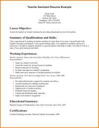 Teaching Resume 100 Resume Objective For Teaching Men Weight Chart 34