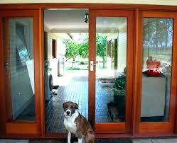 door with pet door french doors with dog door built in doors with pet door built