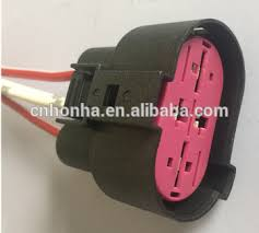 4 pin way cooling fan plug connector with wire harness pigtail for Wire Harness Assembly at Cooling Fan Wire Harness Jetta