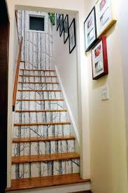 20 DIY Wallpapered Stair Risers Ideas To Give Stairs Some Flair - Amazing  DIY, Interior & Home Design