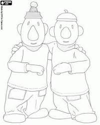 Pat En Mat Twee Mannen In De Problemen Klusser Kleurplaat Buren