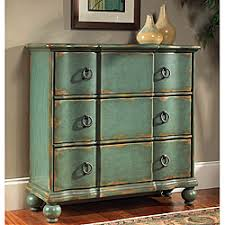 paint distress antique furniture. handpainted chest features a bluegreen distressed finishliving room furniture is constructed of hardwood and mdfaccent has antique brass finish paint distress e