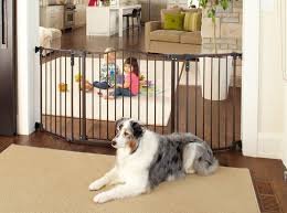 the top extra wide pet gates freestanding pet gate
