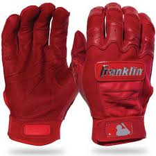 Batting Glove Size Chart Franklin Franklin Mlb Chrome Adult Batting Gloves