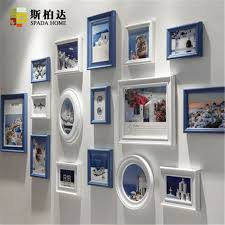 Small Picture Aliexpresscom Buy Home Decor Wood Photo Frame Set Wall Hanging