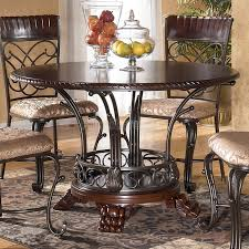 extendable dining room table by signature design by ashley. dining room trend round table drop leaf as ashley extendable by signature design i