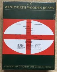 wentworth wooden jigsaw puzzle rugby world cup winners 2003 sealed 185 piece