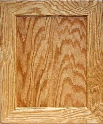 Oak Kitchen Cabinet Door Flat Panel Mitered Door Plywood Center Wood