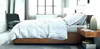 macys platform bed