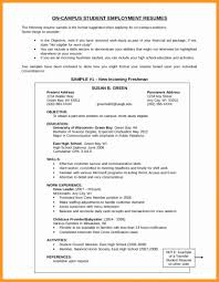 Resume Objective Samples For Any Job Best Of First Job Resume