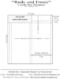Free Candy Bar Wrapper Templates Bar Wrapper Template We Designed Some Free Printable Candy