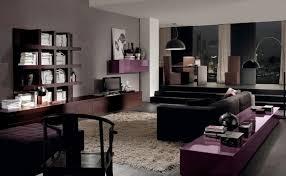 astonishing design in living room paint ideas with brown furniture minimalist purple wooden side table dark purple furniture u33 purple
