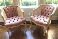 shabby chic furniture nyc. two cane wicker pink arm chairs pick up ny new york shabby armchairs chic furniture nyc t