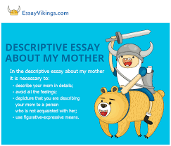 describe essay mother
