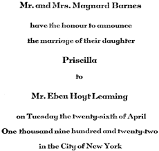 11 invitations, acceptances and regrets post, emily 1922 etiquette Declining A Wedding Invitation engraved on note paper like that of the invitation to the ceremony, is sent to the entire visiting list of both the bride's and the groom's family declining a wedding invitation etiquette