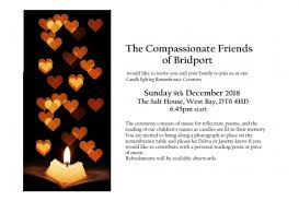 Candle Lighting 2018 The Compassionate Friends Completed Events Candle
