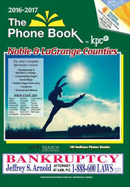 Business Phone Book 2016 2017 Phone Book Noble And Lagrange Counties By Kpc Media Group