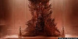 life size iron throne the real iron throne unveiled george rr martin photo huffpost marc