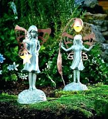 outdoor fairy statues resin pro garden figurines canada for