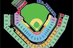 Pnc Park Seating Chart Detailed Seating Chart