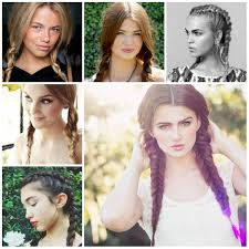 Pigtails Hair Style 2016 pigtail braid hairstyles 2017 haircuts hairstyles and hair 4962 by stevesalt.us