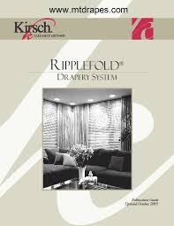 Kirsch Ripplefold Rod Sets New Low Pricing