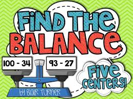 find the balance equations and inequalities centers balancing equationssecond grade mathgrade