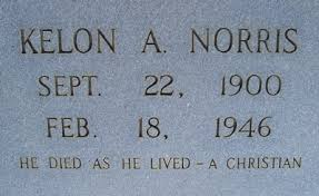 Kelon A Norris (1900-1946) - Find A Grave Memorial