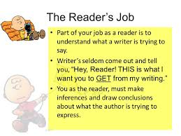 bell ringer what is the topic of ldquo umbrella rdquo by rihanna what are the reader s job part of your job as a reader is to understand what a writer