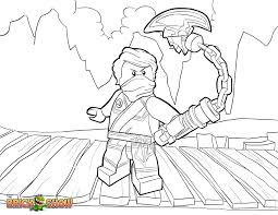 Lego Ninjago Coloring Pages Cole Zx Color Bros