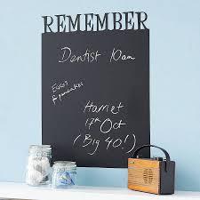 chalkboard decals personalised chalkboard wall sticker by spin
