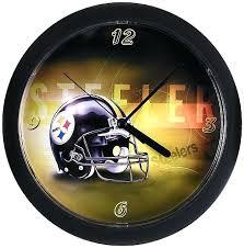 steelers clock alarm clock