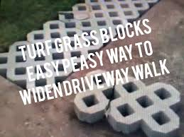 concrete grass pavers. How To Install Turf Grass Block Paving Stones For Driveway, Sidewalk, Patio - YouTube Concrete Pavers