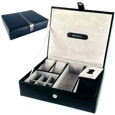 mens leather jewelry box personalized boxes amazing jewellery gift cuff links case storage desk