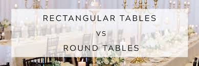 Rectangle Tables Wedding Reception Rectangular Tables Vs Round Tables East Lansing Michigan