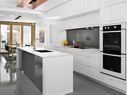 contemporary kitchen furniture detail. Modern White Kitchen Contemporary Furniture Detail M
