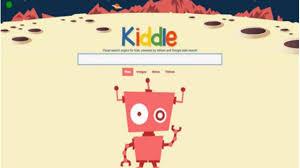 Imágen de la plataforma KIDDLE