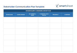 Communication Plan Template Word Crm Strategy Planning And Implementation Smartsheet