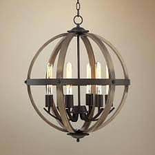 gray wood and iron chandelier gray wood and iron chandelier 6 light wide dark bronze and gray wood and iron chandelier