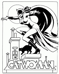 Small Picture catwoman coloring page Comic Book Coloring Pages Pinterest