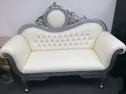 white chair sofa cool cute design Love Seat Vintage Furniture Rental Los Angeles elegant white color sofa ideas indoor