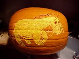 Advanced Pumpkin Carving Patterns Simple Eeyore Pumpkin Carving Advanced Pumpkin Carving Patterns Eeyore
