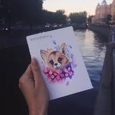сделать татуировку лиса эскиз на спина в городе санкт петербург по