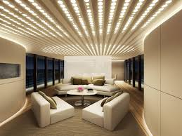 Decorating Enchanting Led Ceiling Lighting Inside Grand Living