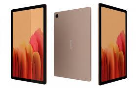 Samsung Galaxy Tab A7 104 2020 Gold 3D ...