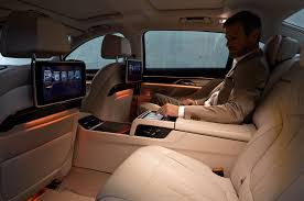bmw 2015 7 series interior. 2016 bmw 7 series rear seating entertainment bmw 2015 interior