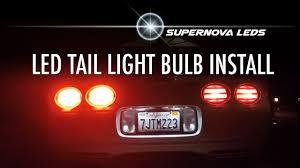 C5 Corvette Led Reverse Lights Super Nova Leds Tail Light Bulb Install C5 Corvette Z06