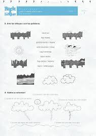 Weather   Worksheet   Rockalingua