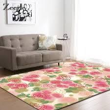 zeegle living room carpet baby room non slip bedroom rug mat kitchen absorbent carpet coffee