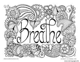 Small Picture Breathe Adult Anti Stress Jennifer 3 Coloring Pages Printable